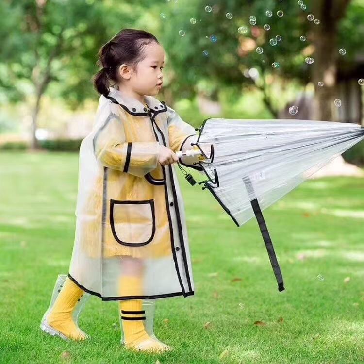 TPU雨衣+雨伞